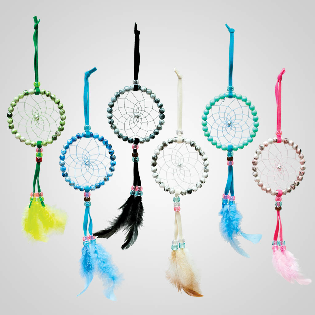 63432 - Beaded Dreamcatcher Ornaments