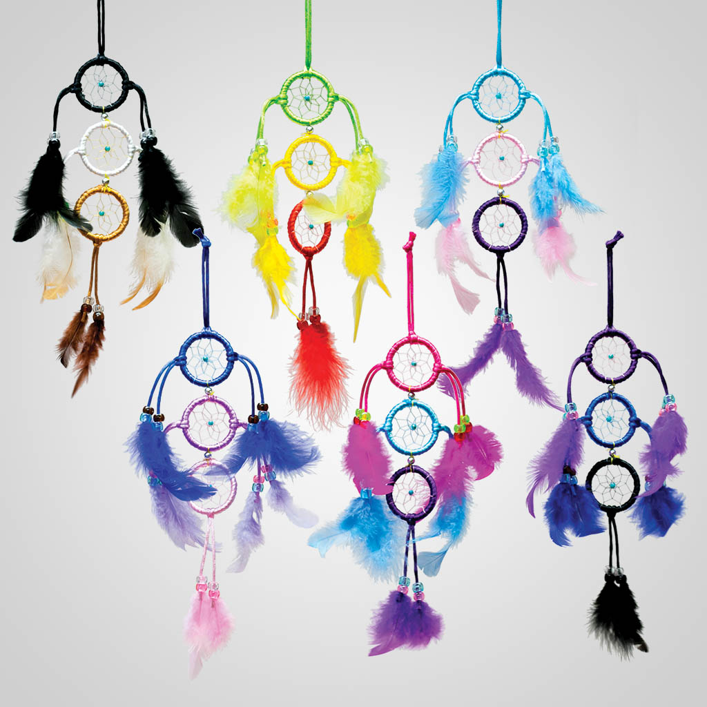 63434 - Triple Ring Dreamcatchers