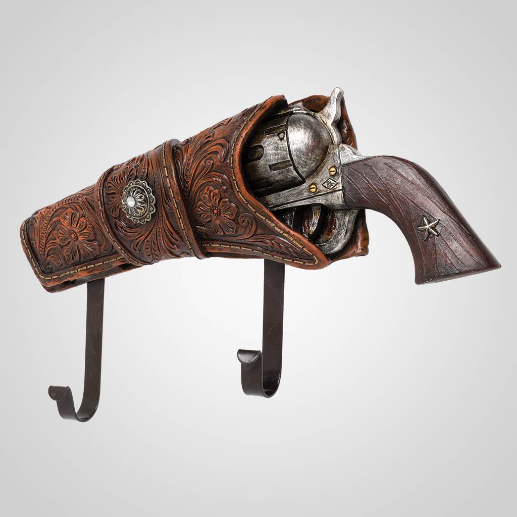 63437 - Holstered Pistol Wall Hook