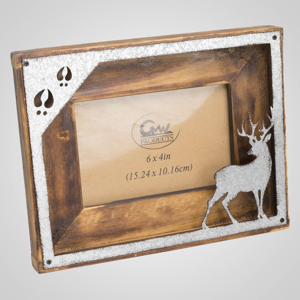 63446 - Deer Outline Picture Frame
