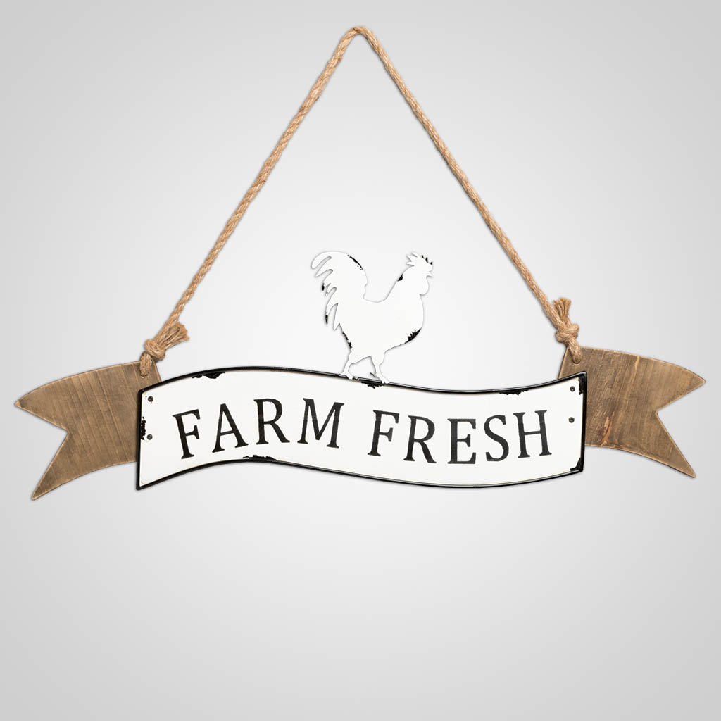 63453 - Farm Fresh Chicken Plaque