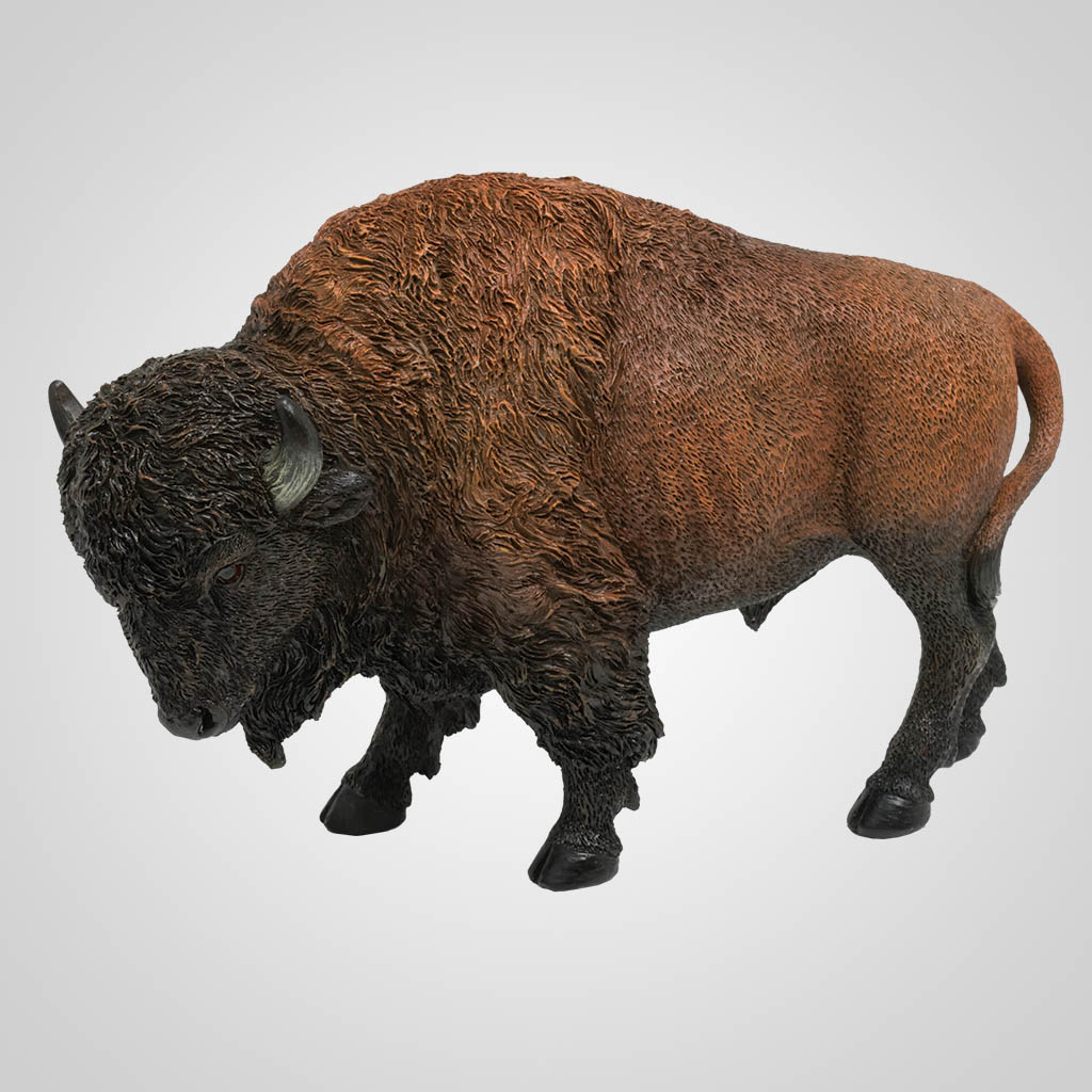 63457 - Buffalo Figurine