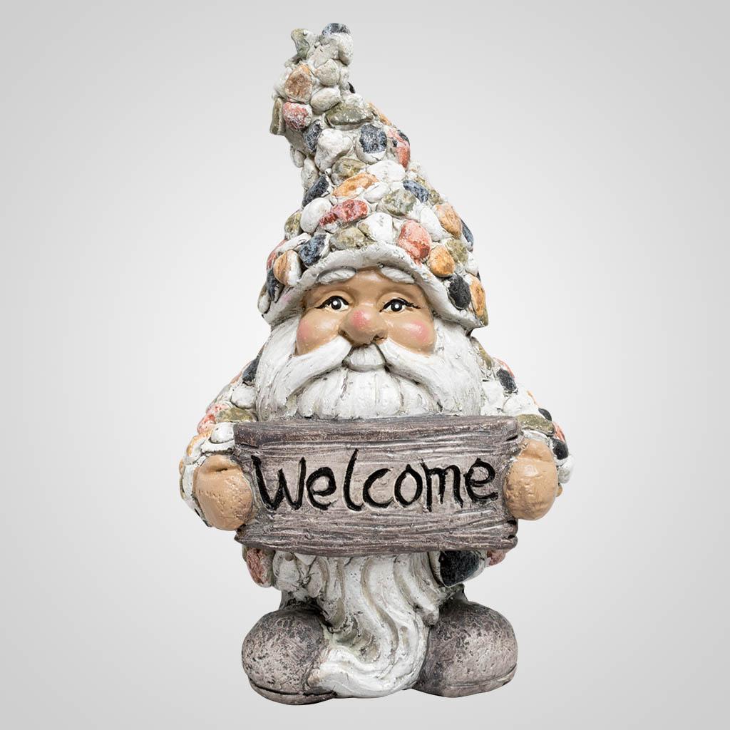 63464 - Pebble-Stone Welcome Gnome