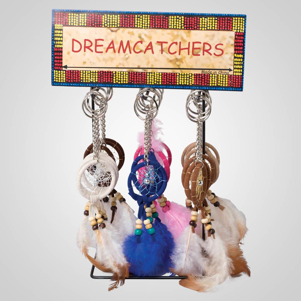 63495 - Feather Dreamcatcher Keychain
