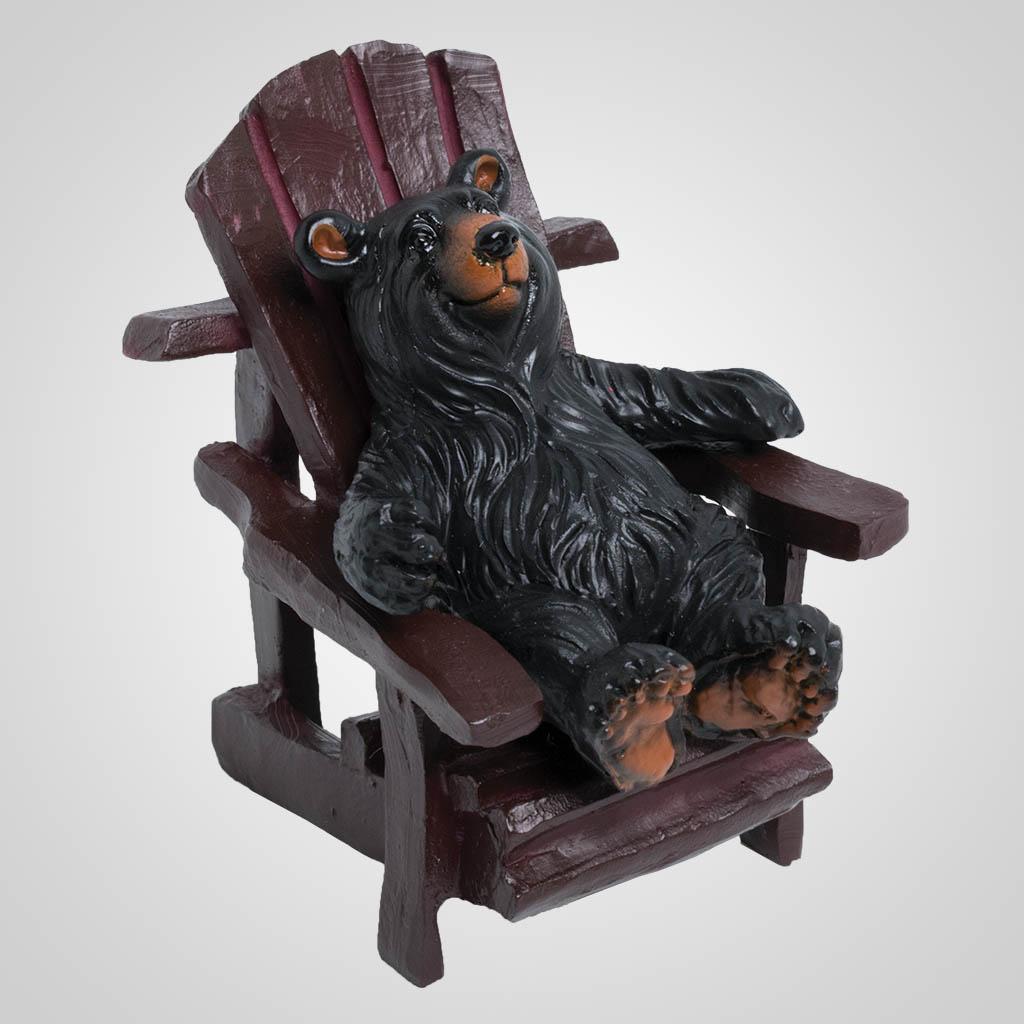 63503 - Bear in Adirondack Chair