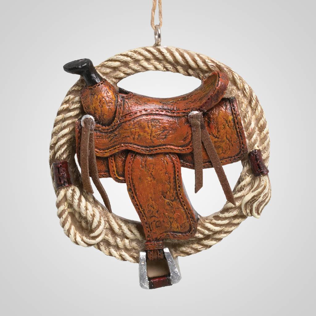 63510 - Rope & Saddle Ornament