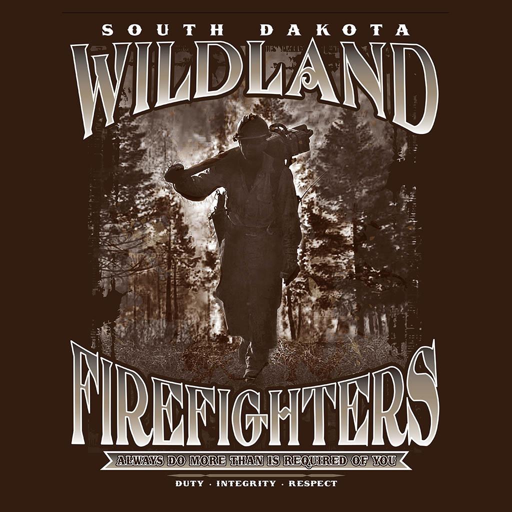D02040SDADLC - South Dakota Wildland Firefighters T-Shirt Design
