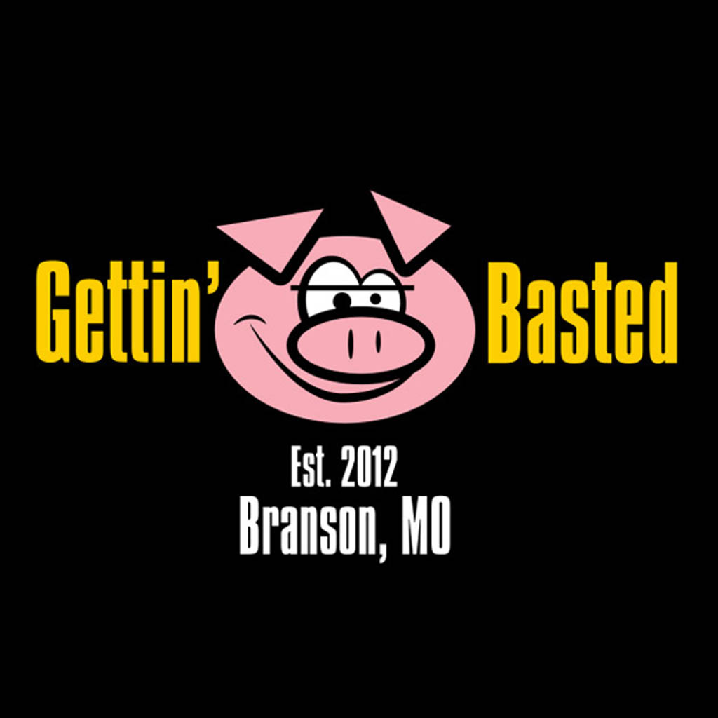 D02045GETBCH - Gettin' Basted T-Shirt Design