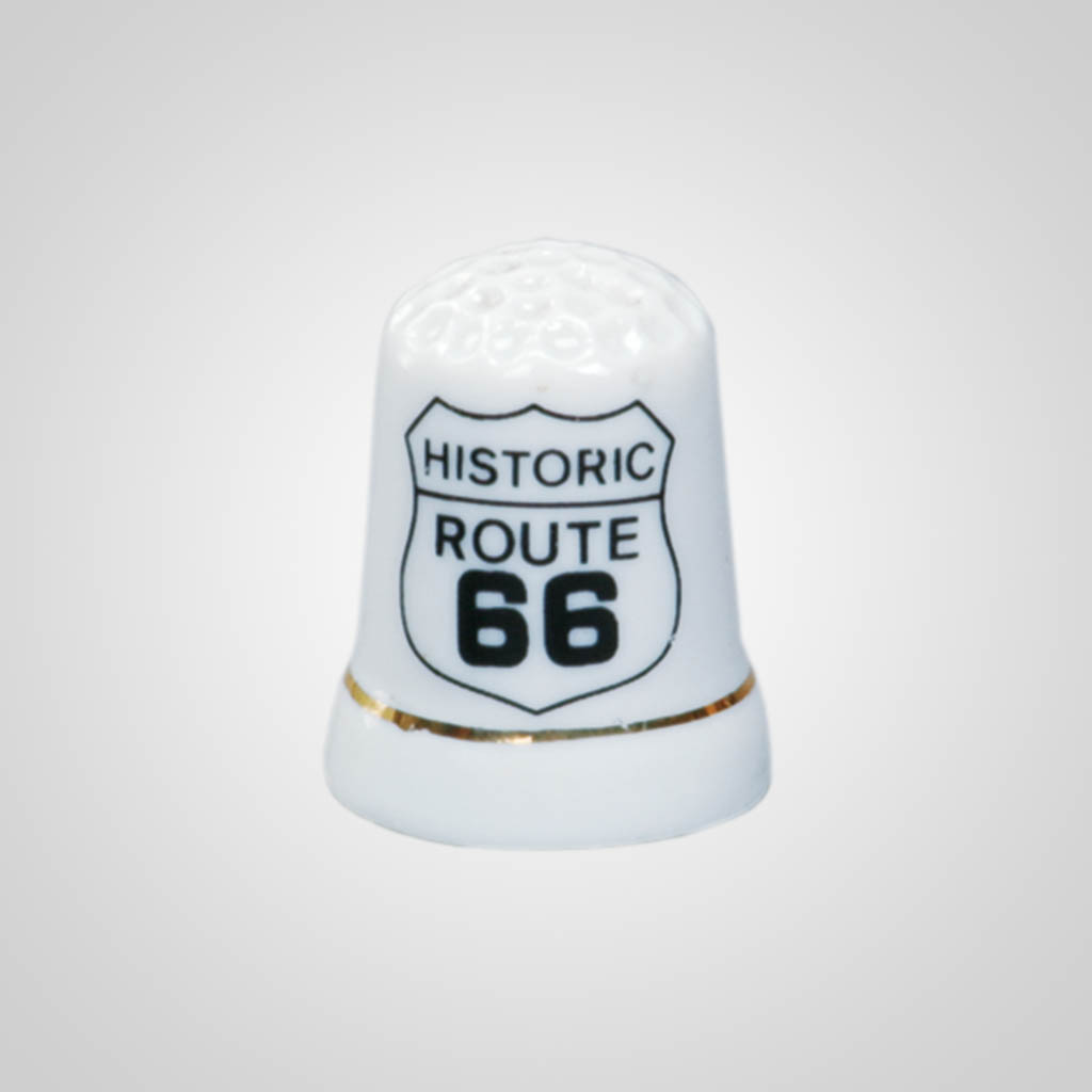 10010PP - Route 66 Thimble, Name-Drop