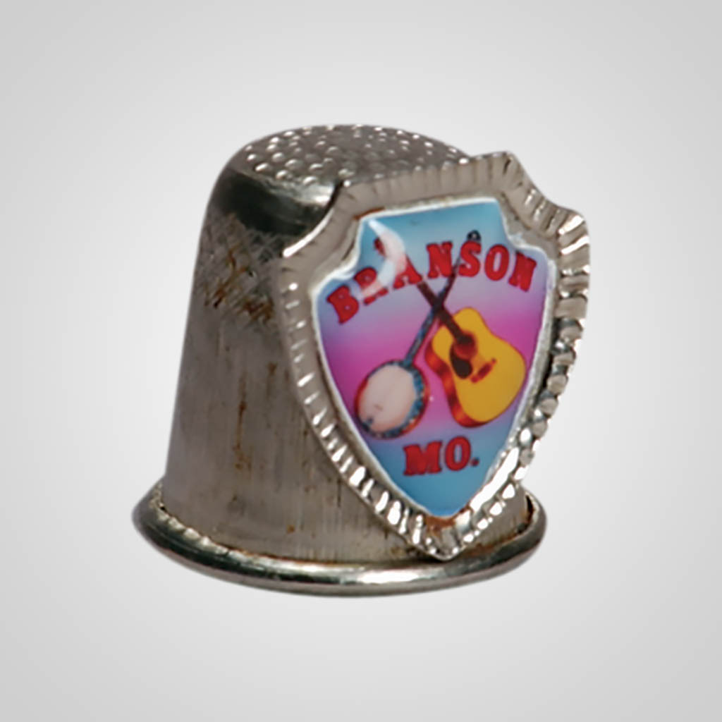 10458 - Metal Thimble With Shield