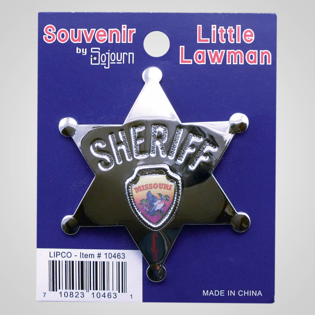 10463 - Sheriff Badge With Shield