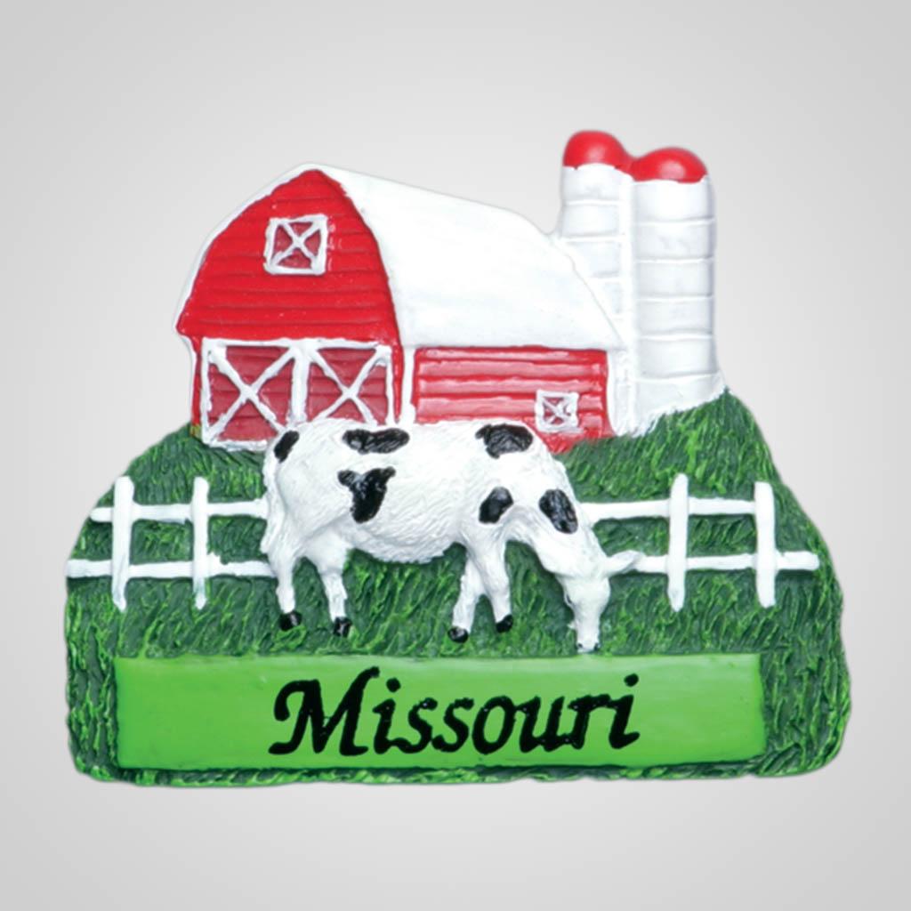 13082 - Farm Scene Magnet, Name-Drop