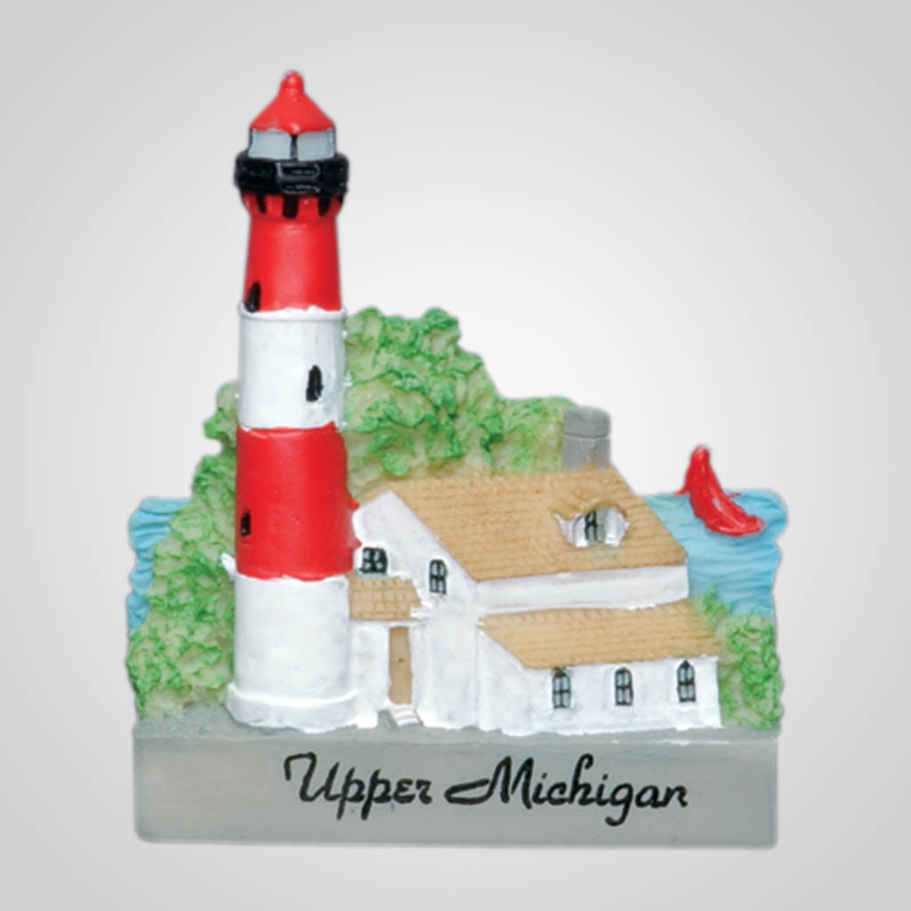 13178 - Poly Lighthouse Magnet, Name-Drop