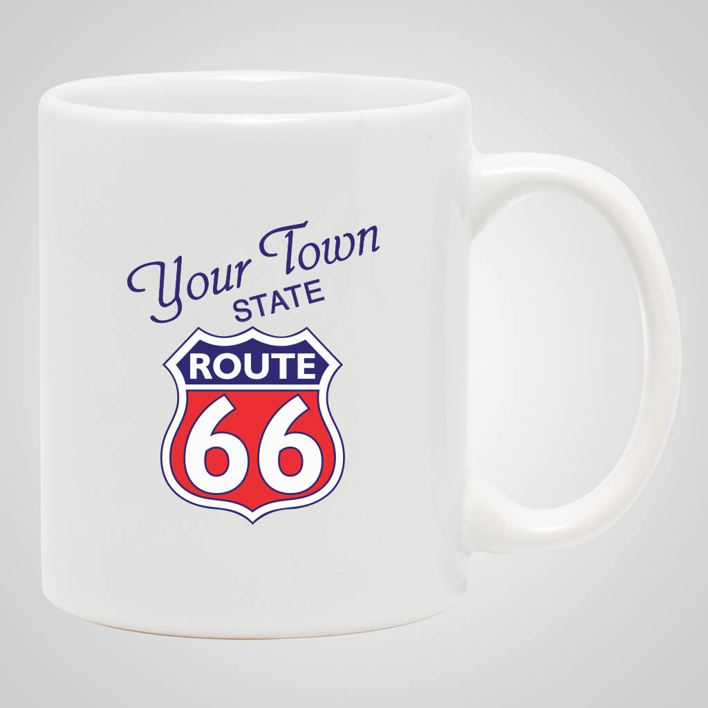 13587PPM - White 11 oz Mug, Multi-Color Print