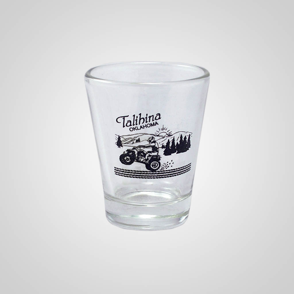 13588PP - Clear Shot Glass, 1-Color Print