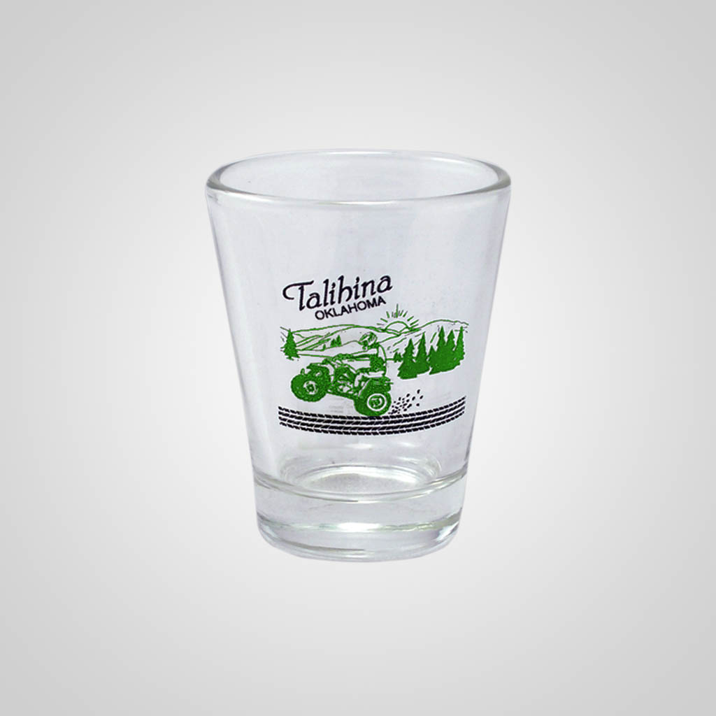 13588PPM - Clear Shot Glass, Multi-Color Print