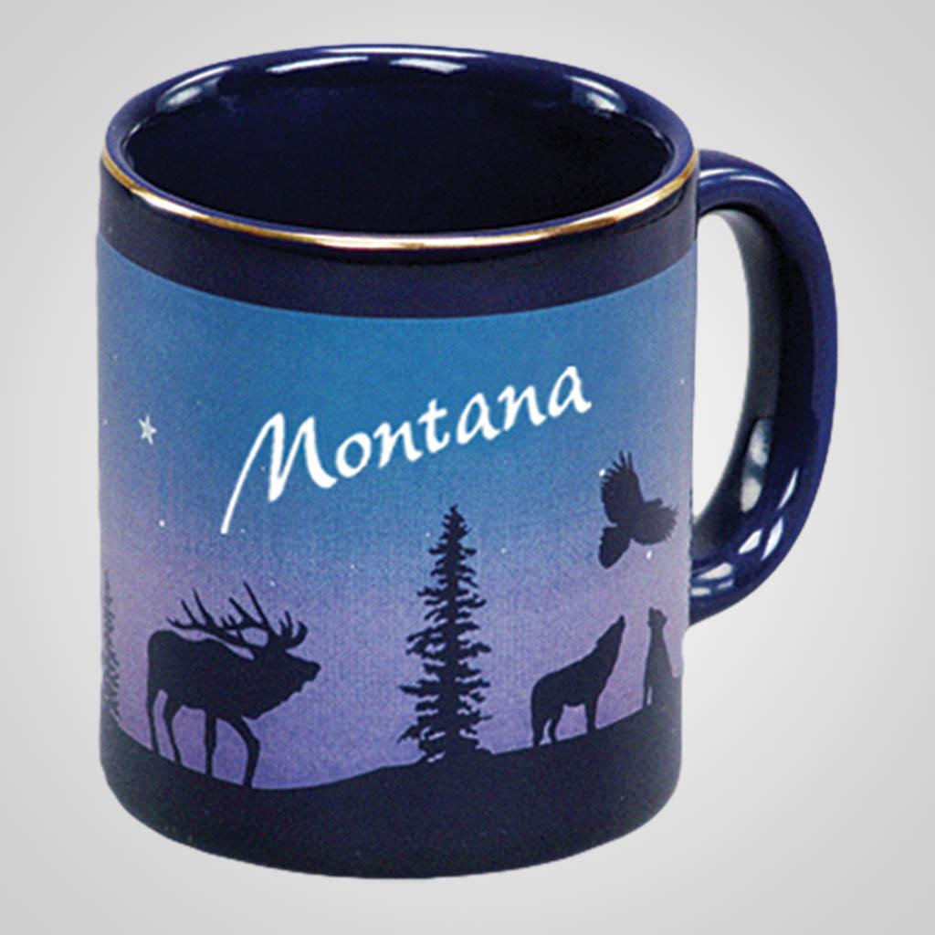 14071PP - Cobalt Elk/Forest Mug, Name-Drop