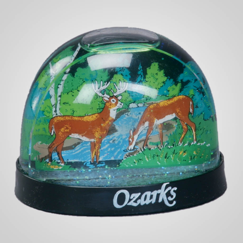 15197 - Deer Waterglobe, Name-Drop