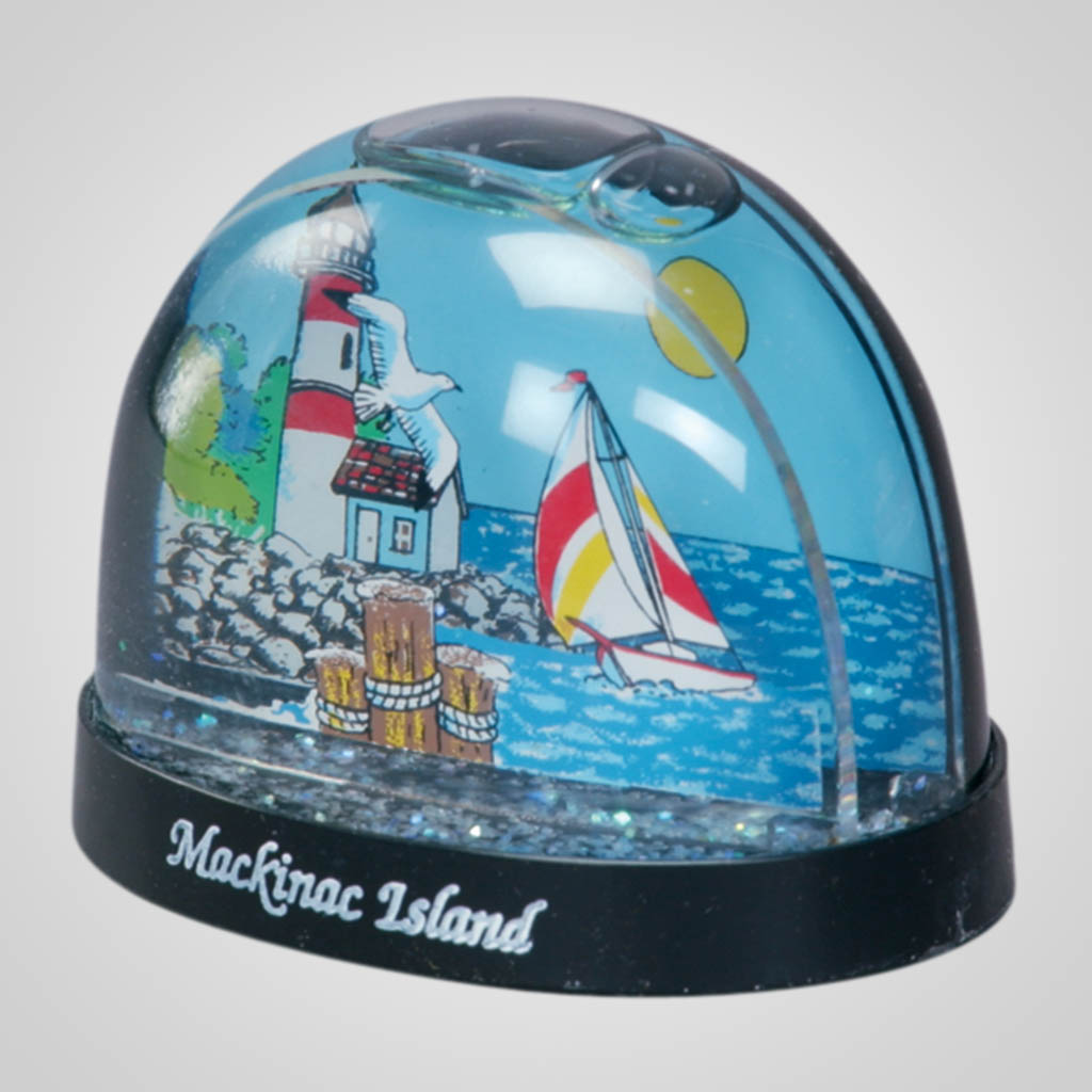 15200 - Lighthouse Waterglobe, Name-Drop