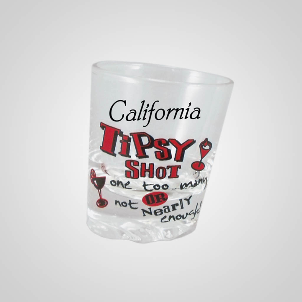 15965PP - Tipsy Shot Glass, Name-Drop
