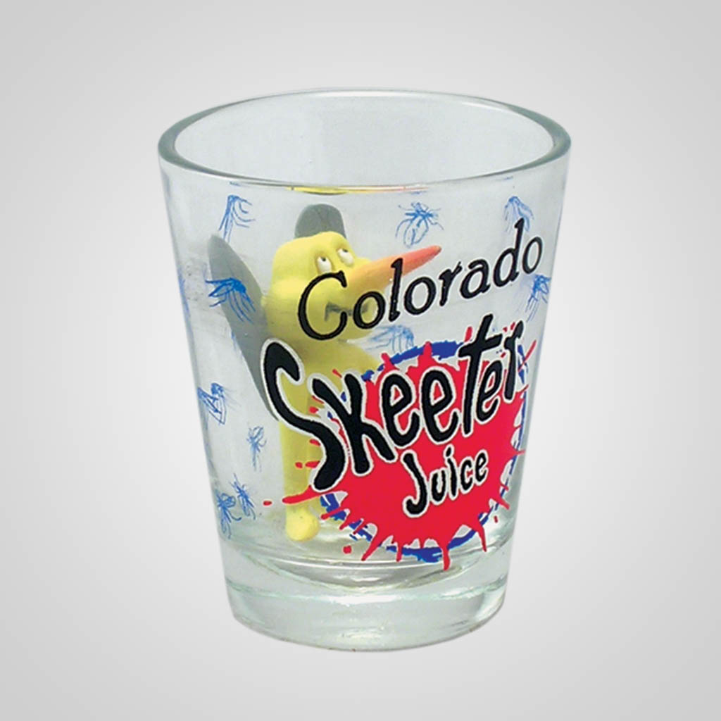15967PP - Skeeter Juice Shot Glass, Name-Drop
