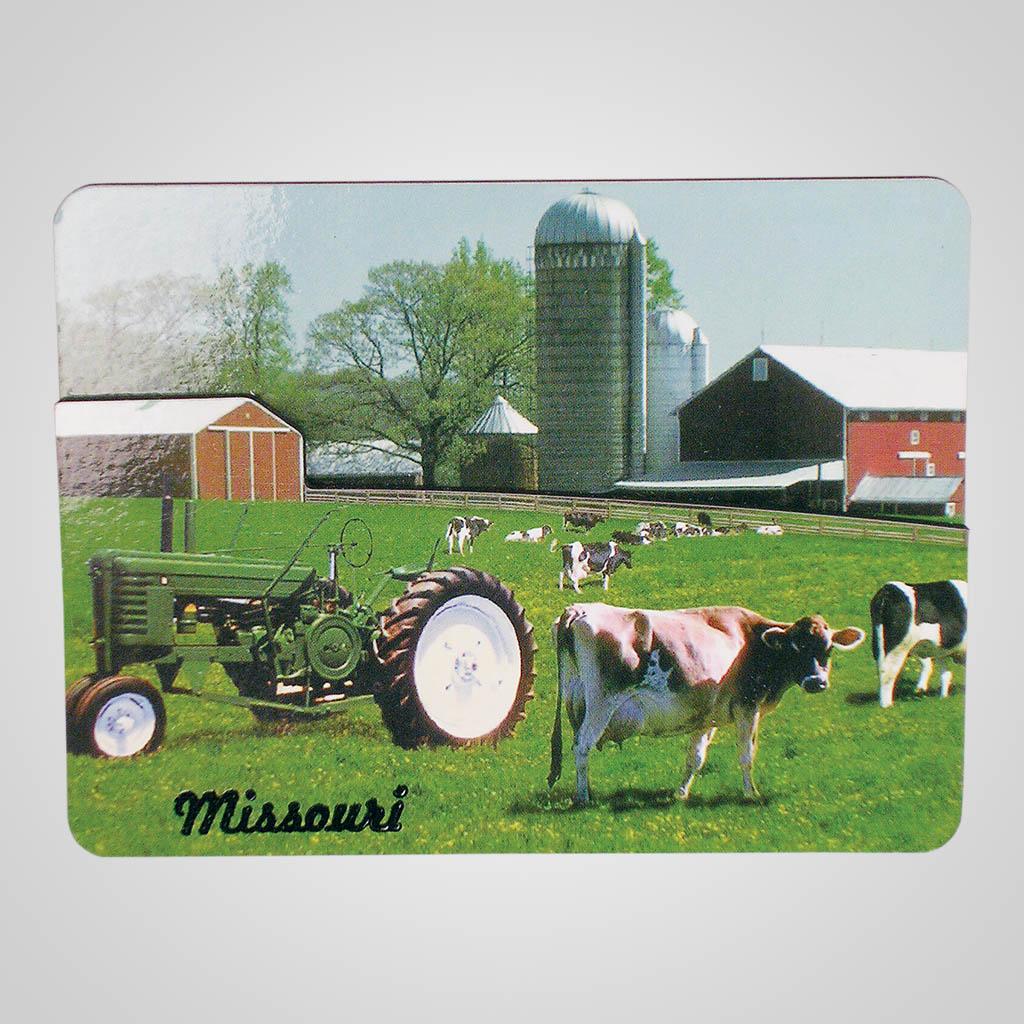 15993 - Farm Scene Bi-Level Magnet