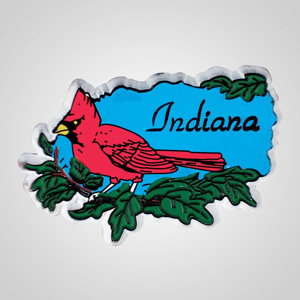 16412 - Cardinal Rubber Magnet, Name-Drop