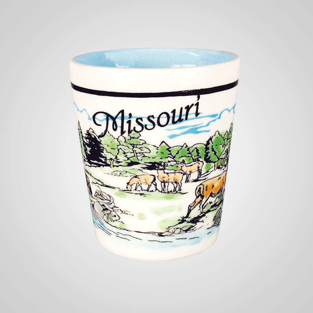 16463PP - Forest Direct-Print Shot Glass, Name-drop