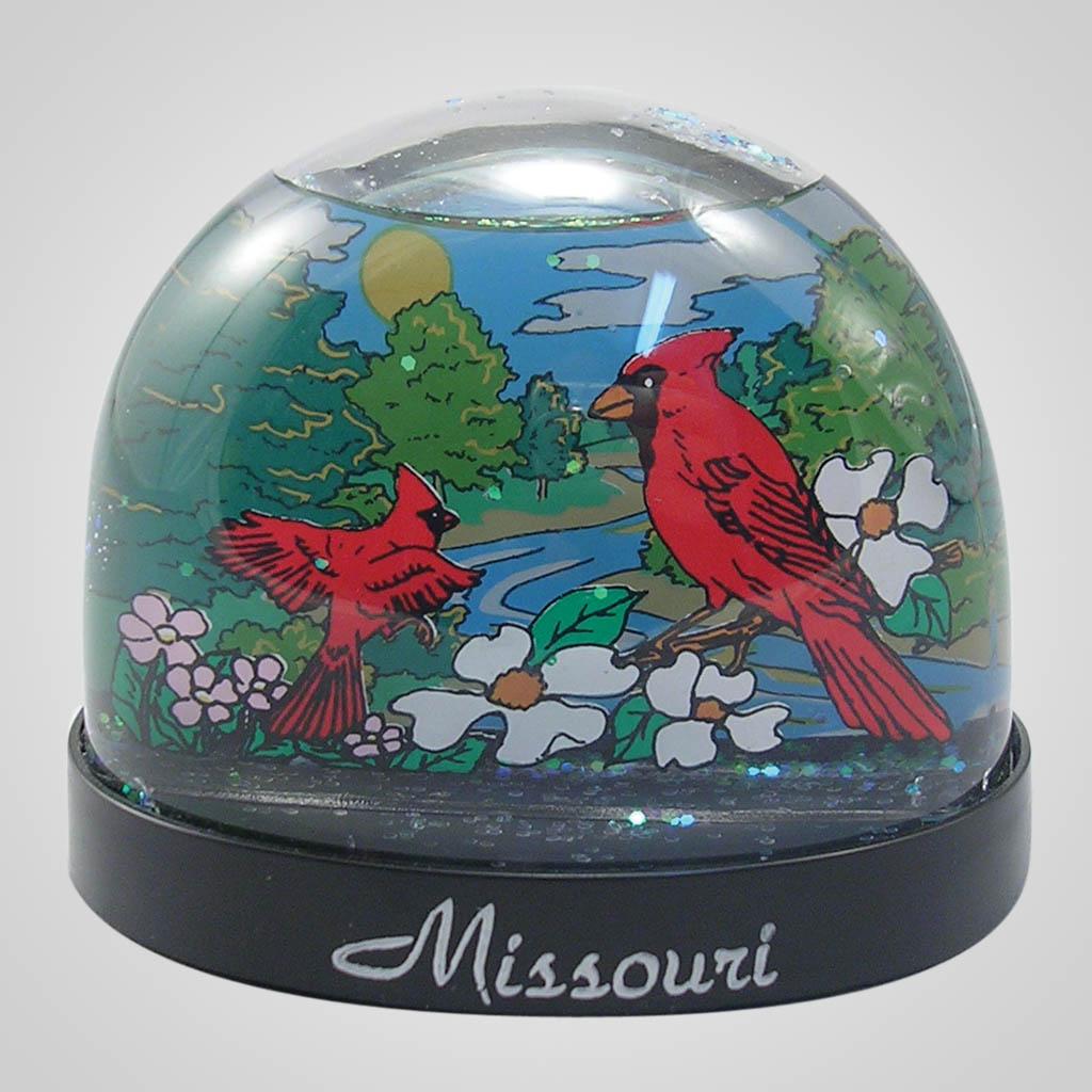 16489 - Cardinals Waterglobe, Name-Drop