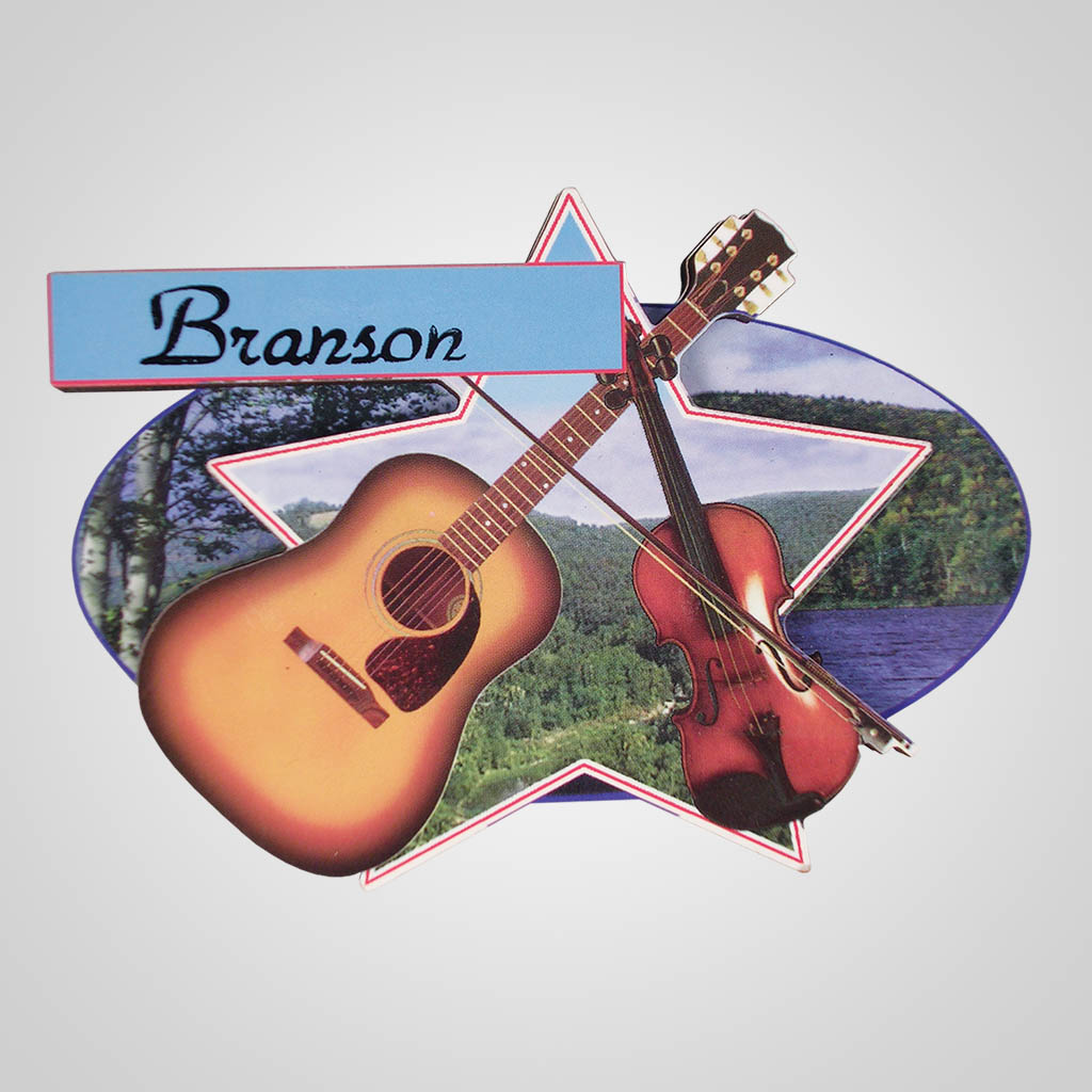 16495 - Country Music Bi-Level Magnet