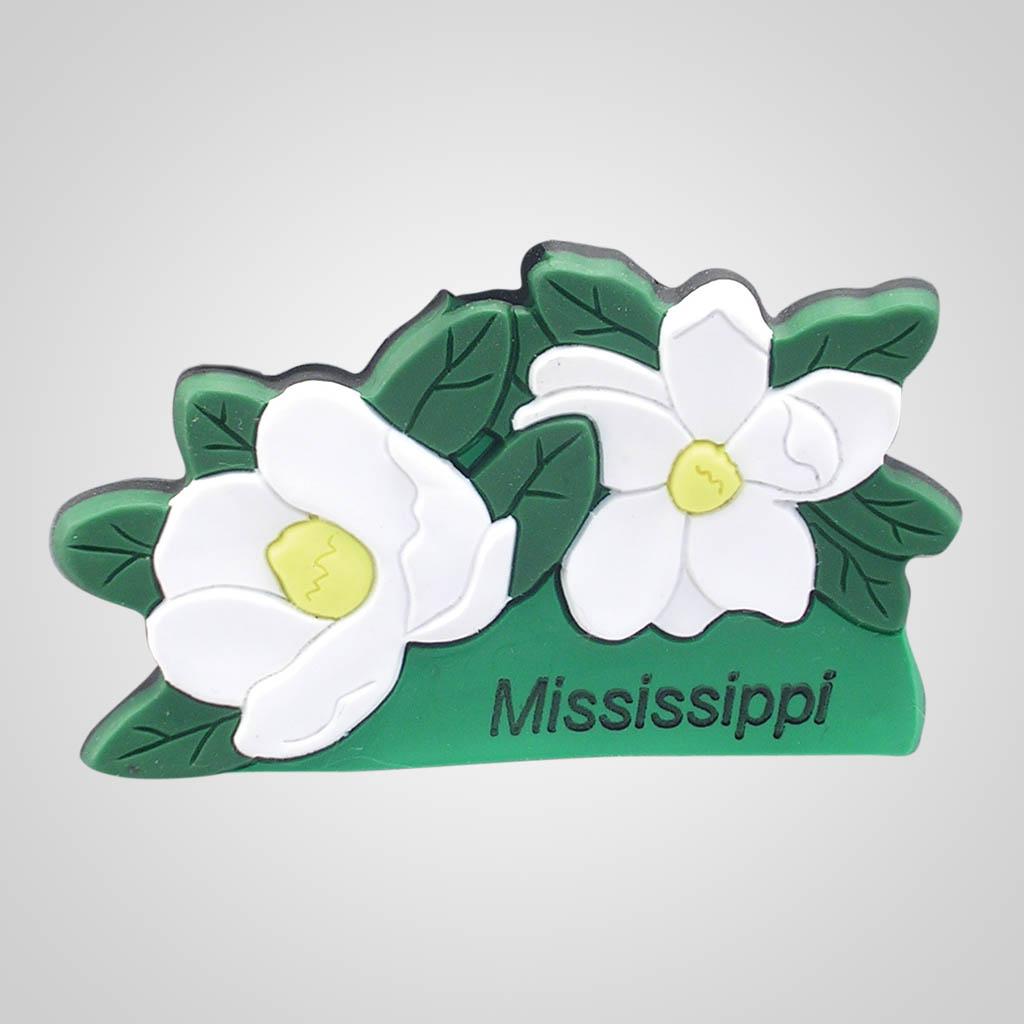 16544 - Magnolias PVC Magnet, Name-Drop