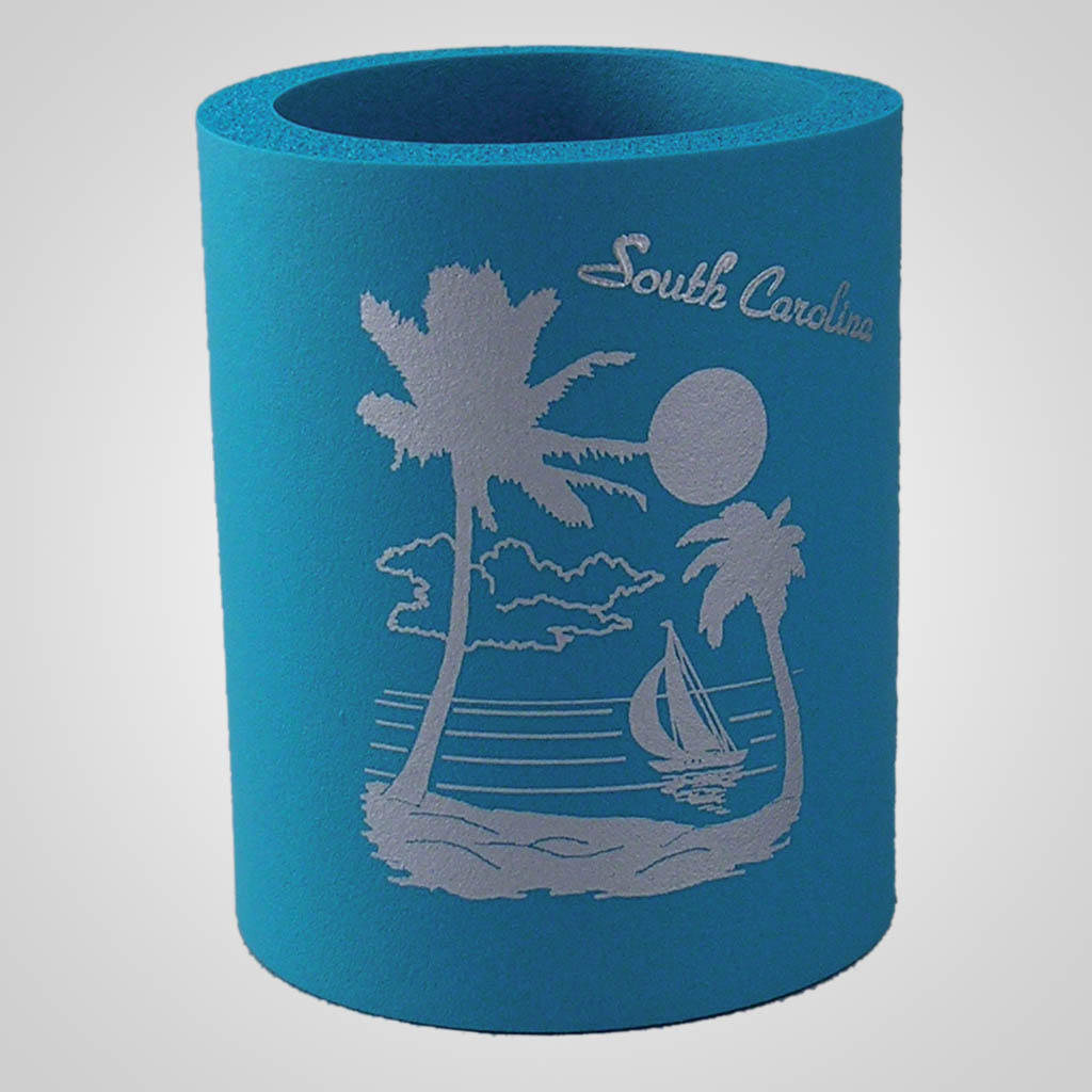 16667 - Beach Scene Can Cooler