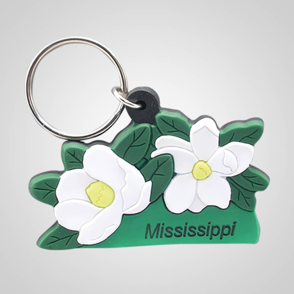 16904 - Magnolias Keychain, Name-Drop
