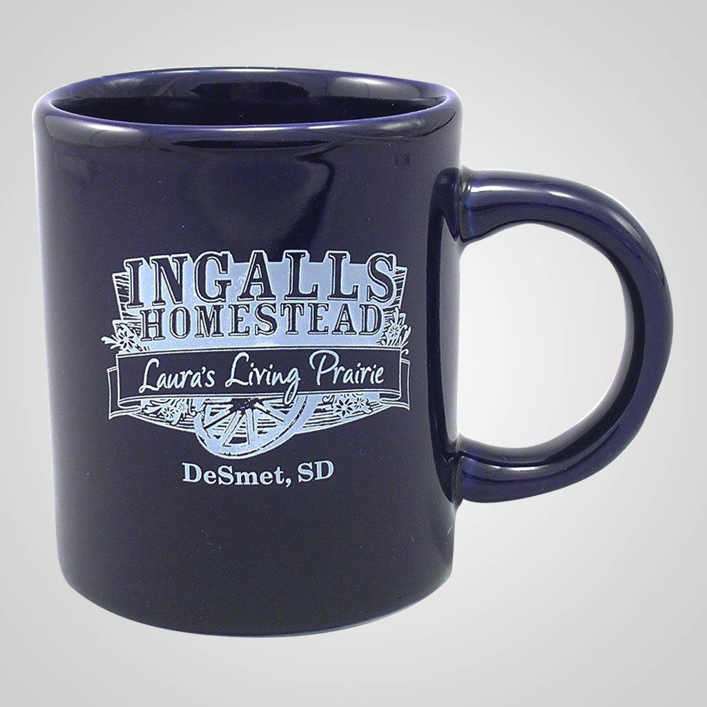 16920PP - Cobalt Glaze Mug, 1 Color Print