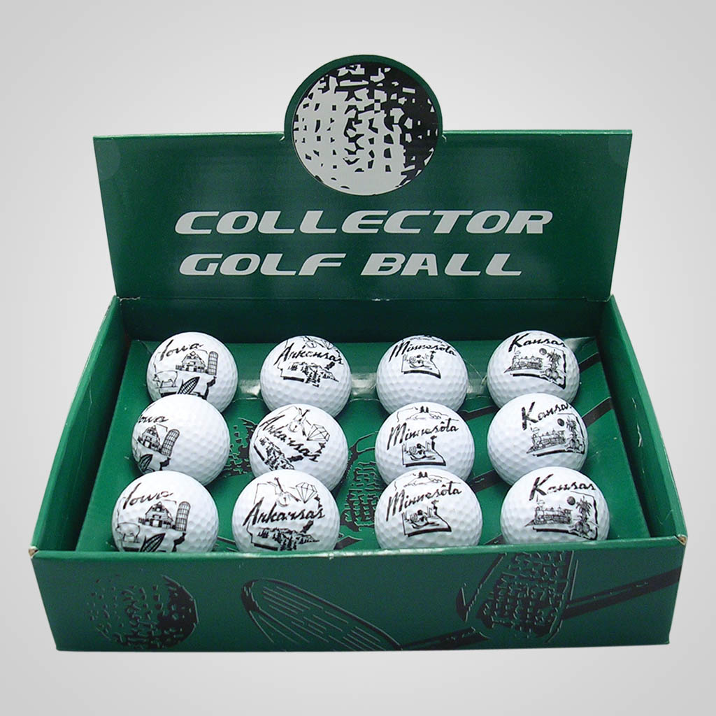 16922JPM - Golf Ball, Multi-Color Print