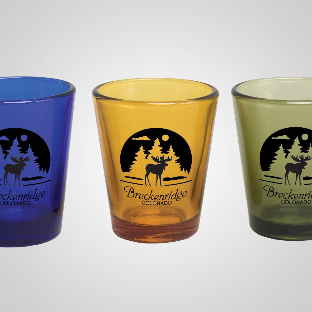 16966PP - Retro Shot Glass - 1 Color Print