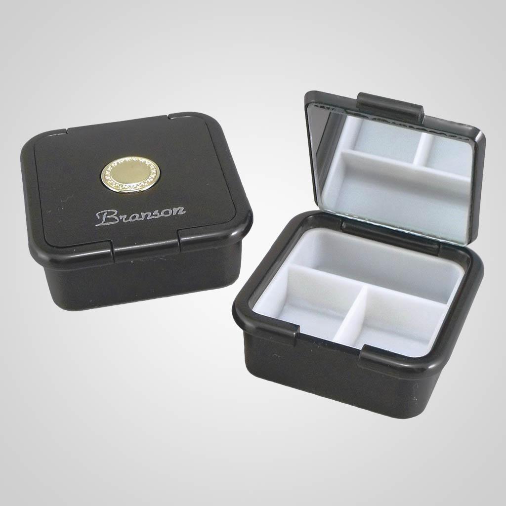 17040 - Square Pill Box, Name-Drop