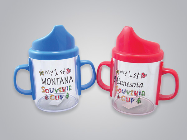17070PP - Kiddy's Plastic Sippy Cup