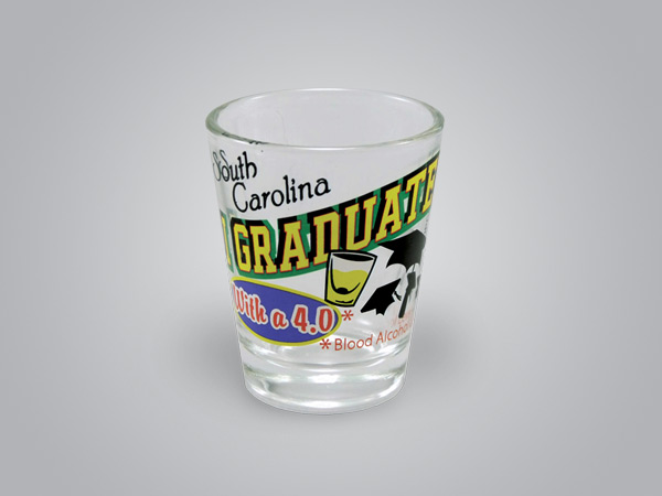 17136PP - Graduated 4.0 Comic Shot Glass