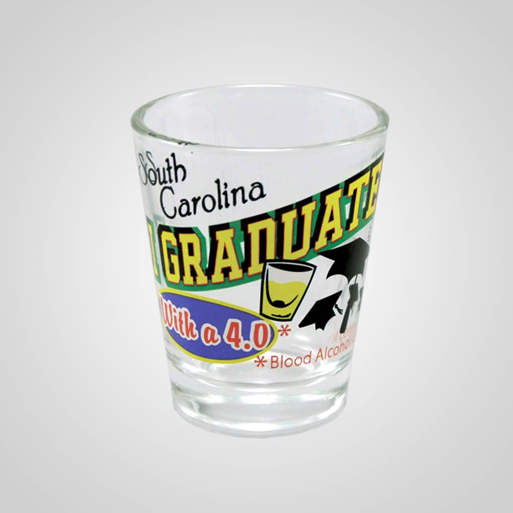 17136PP - Graduated 4.0 Comic Shot Glass, Name-Drop