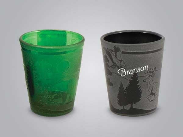 17138PP - Forest Etch Shot Glass