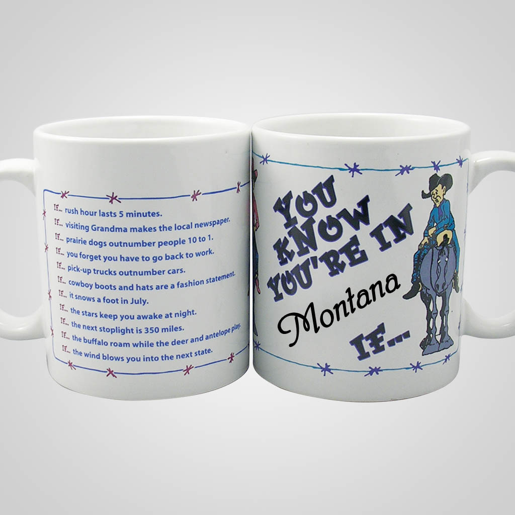 17209PP - You Know Your In If...Mug