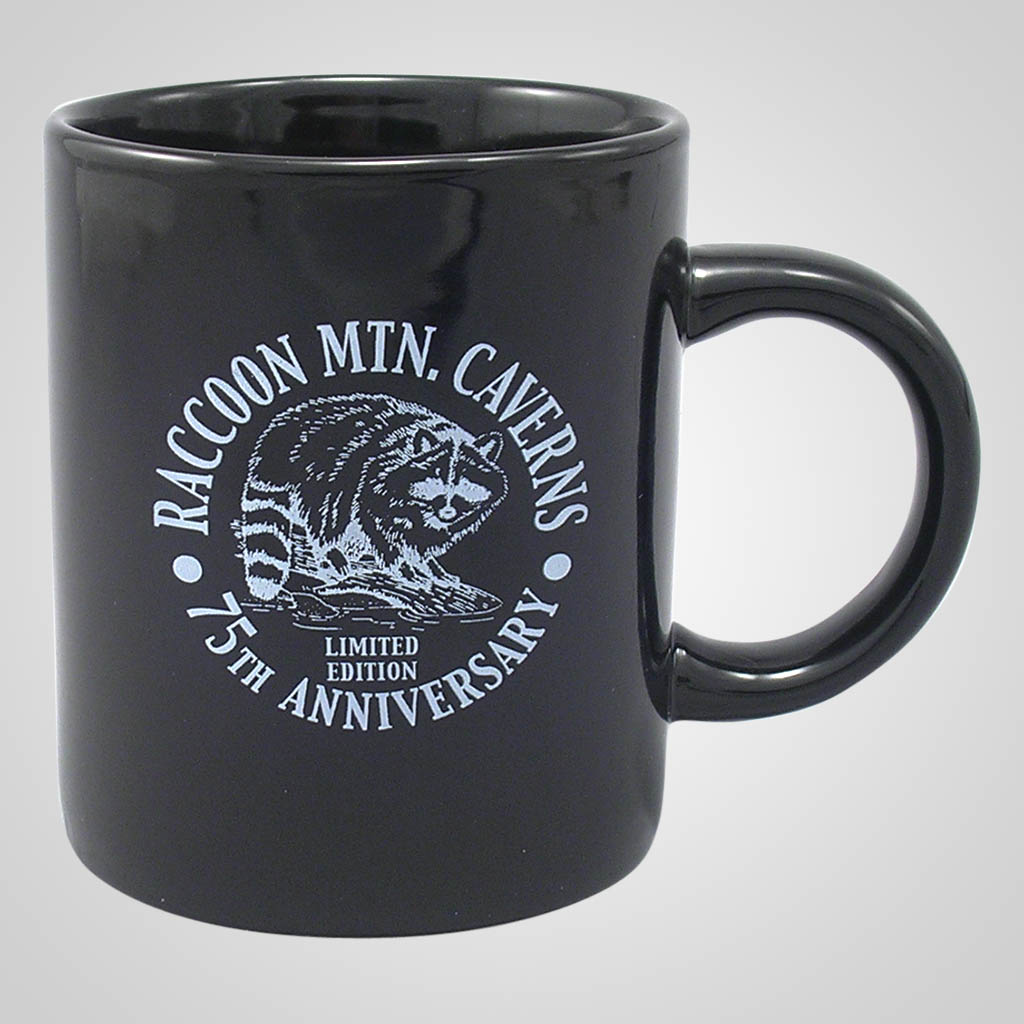 17215PP - Black Glaze Custom Mug - 1 Color Print