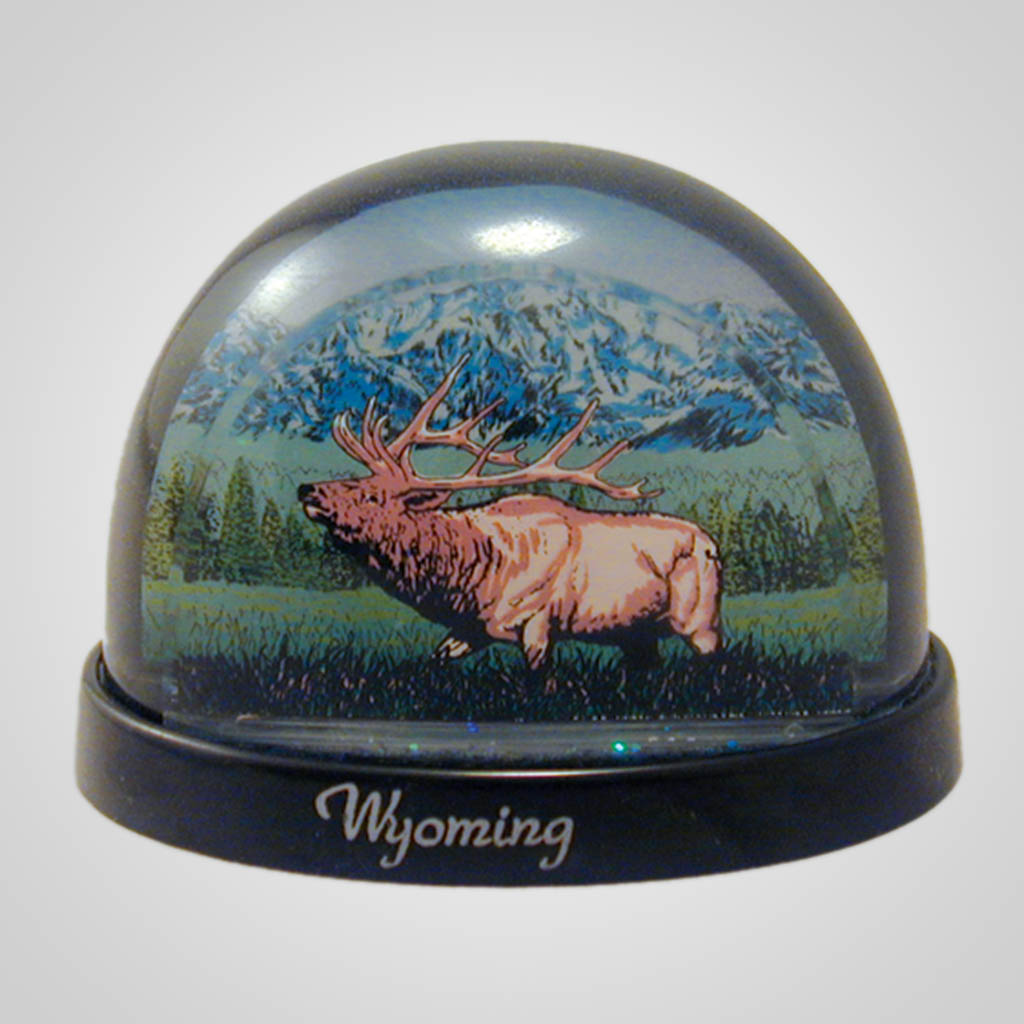 17685 - Elk Waterglobe, Name-Drop