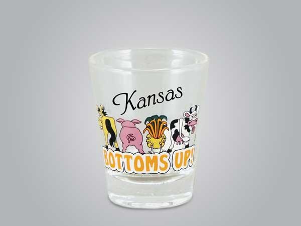 17702PP - Farm Bottoms Up Shot Glass