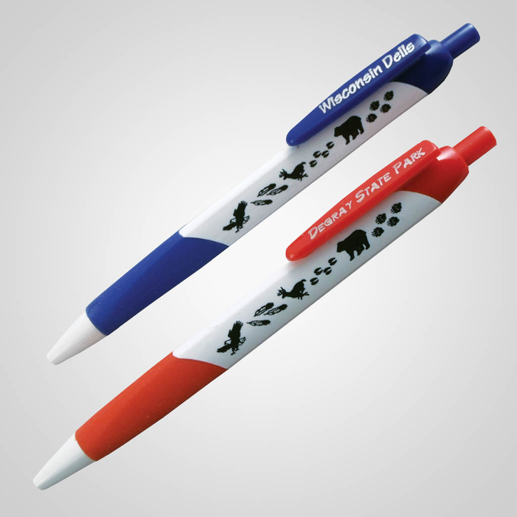17704 - Wilderness Tri-Sided Pen, Name-Drop