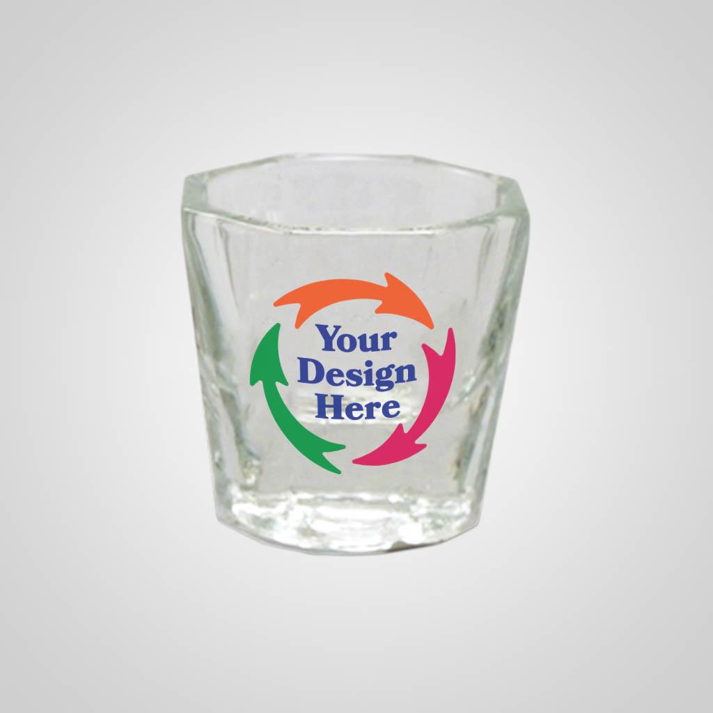 17901PPM - Mini Whiskey Shot Glass - Multi - Color Print