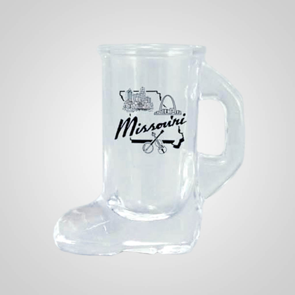17904PP - Boot Shot Glass - 1 Color Print
