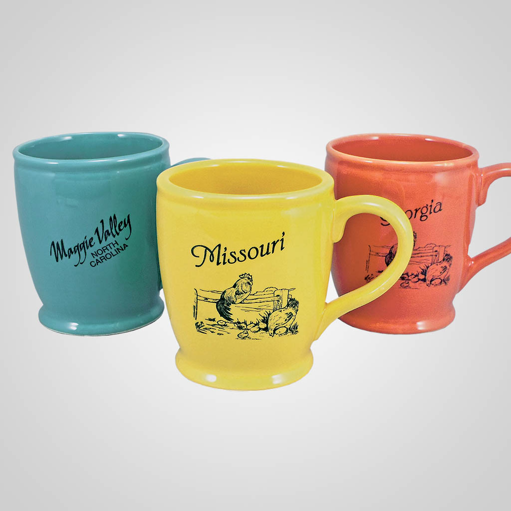 17915PPM - Jumbo Taper Footed Mug - Multi - Color Print
