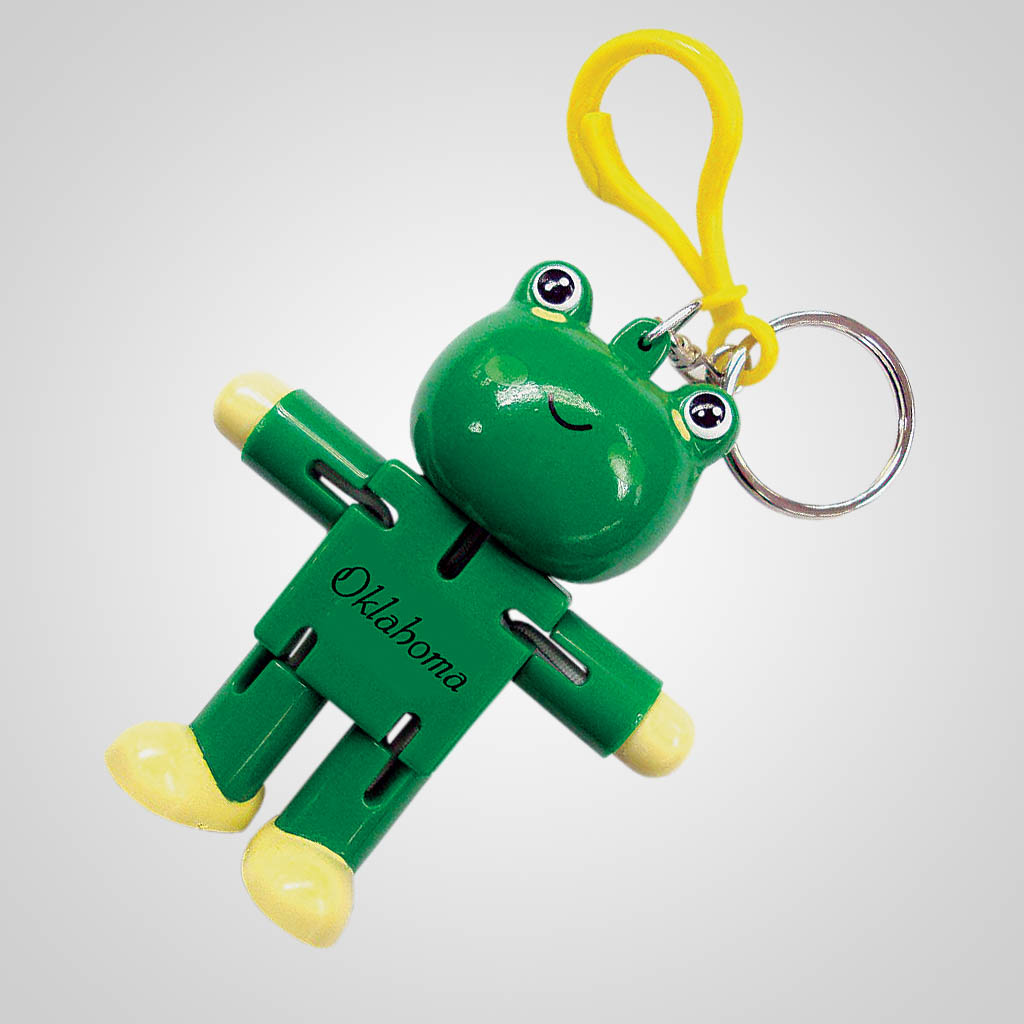 18031 - Robot Frog Keychain, Name-Drop